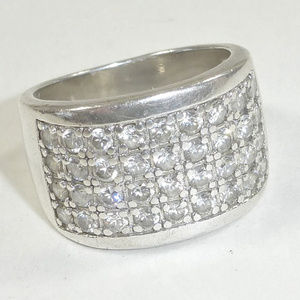 Silpada Jewelry - Silpada R1405 CZ Channel Set Ring Size 8